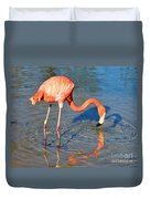 Taking A Drink Duvet Cover