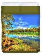 Telaga Warna Lake Duvet Cover