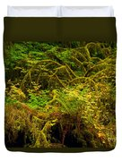 Temperate Rain Forest Duvet Cover by Adam Jewell