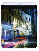 Temple Bar, Dublin, Co Dublin, Ireland Duvet Cover