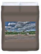 Tenby North Beach Duvet Cover