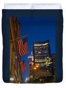 The American Flag Duvet Cover