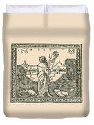 The Astrologer Albumasar Duvet Cover