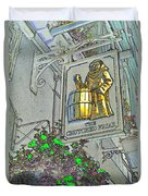 The Crutched Friar Public House Duvet Cover