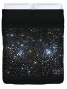 The Double Cluster, Ngc 884 And Ngc 869 Duvet Cover