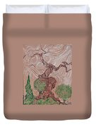 The Earthen Tree Duvet Cover