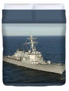 The Guided-missile Destroyer Uss Laboon Duvet Cover