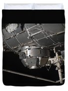 The International Space Stations Duvet Cover by Stocktrek Images