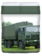 The Iveco M250 8 Ton Truck Duvet Cover by Luc De Jaeger