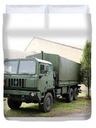 The Iveco M250 8 Ton Truck Used Duvet Cover