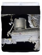 The Japanese Experiment Module Kibo Duvet Cover