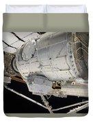 The Pressurized Mating Adapter 3 Duvet Cover by Stocktrek Images