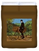 The Rover Bicycle Duvet Cover