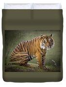 The Sumatran Tiger  Duvet Cover