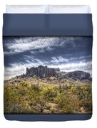 The Superstitions  Duvet Cover