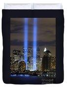 The Tribute In Light Memorial Duvet Cover