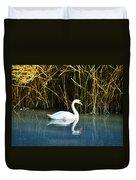 The White Swan Duvet Cover