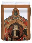Thomas Aquinas, Italian Philosopher Duvet Cover by Photo Researchers