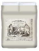 Tobacco Warehouse, 1775 Duvet Cover