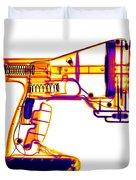 Toy Vortex Gun Duvet Cover