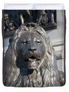 Trafalgar Square Lion Duvet Cover