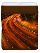 Traffic River Duvet Cover