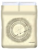 Transit Of Venus, 1761 Duvet Cover by Science Source