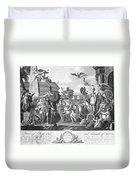 Treaty Of Ghent, 1814 Duvet Cover