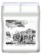 Treaty Of Paris, 1783 Duvet Cover