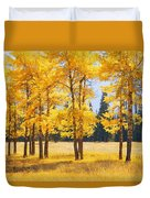 Trees In Autumn Duvet Cover