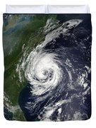 Tropical Storm Gustav Duvet Cover