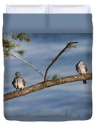 Two Of A Kind Duvet Cover