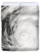 Typhoon Man-yi Duvet Cover