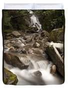 Unnamed Waterfall Along South Tongass Duvet Cover