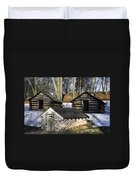 Valley Forge Winter Duvet Cover