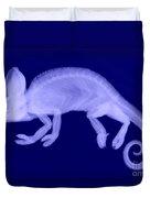 Veiled Chameleon X-ray Duvet Cover
