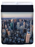 View From Empire State Building Duvet Cover