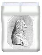 Voltaire (1694-1779) Duvet Cover