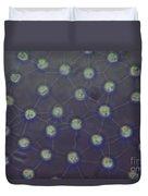 Volvox Aureas Algae Lm Duvet Cover