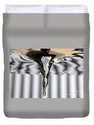 Vortex In Water Duvet Cover