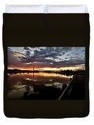 Wakamaw Valley Sunrise Duvet Cover