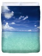 Waters Off The West Coast Duvet Cover