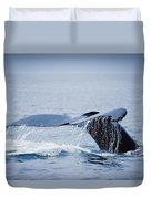 Whales Fluke Duvet Cover