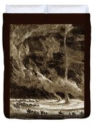 Whirlwinds, 1873 Duvet Cover