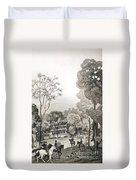 White Sulphur Springs Duvet Cover