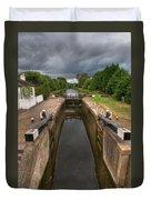 Wide Water Lock Duvet Cover