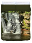 Widows Creek Falls Duvet Cover