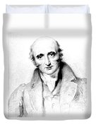 William Hyde Wollaston, English Chemist Duvet Cover