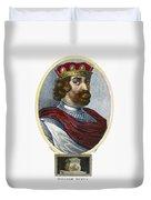 William II (1056-1100) Duvet Cover