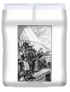 William Penn (1644-1718) Duvet Cover